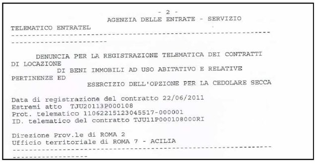 Novit del modello 730 2012 redditi 2011 misterfisco for Contratto cedolare secca modello