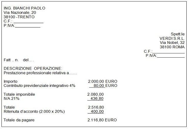 Casa immobiliare accessori calcolo ritenuta d acconto 4 - Acconto per acquisto casa ...
